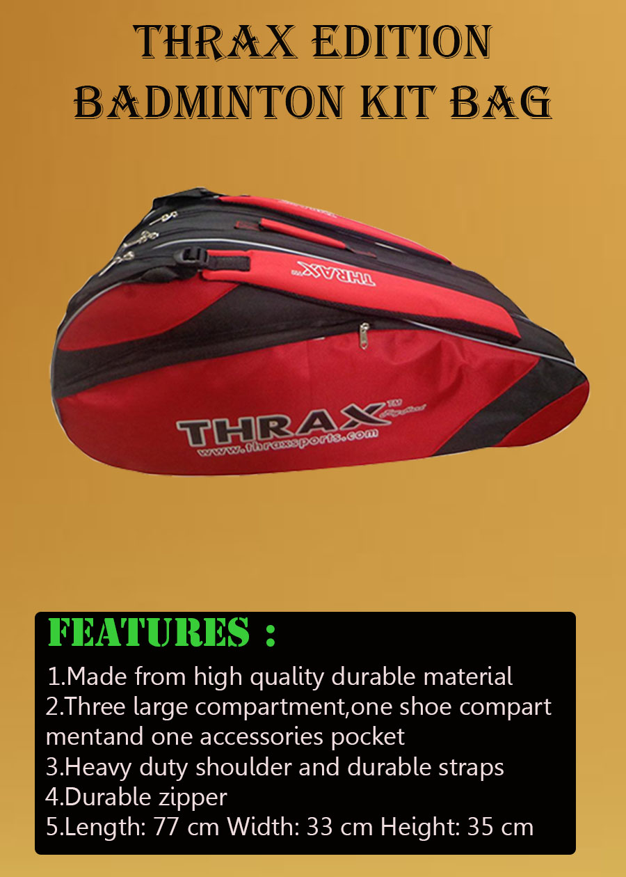 Thrax Edition Badminton Kit Bag_4