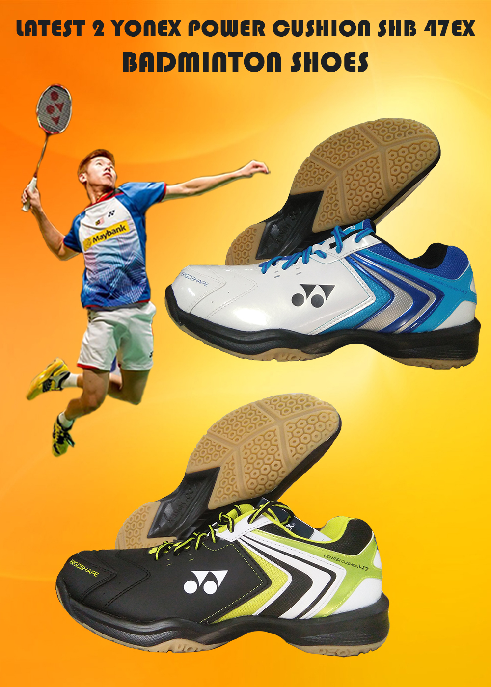 Yonex Power Cushion SHB 47EX SHOES IMAGES_1