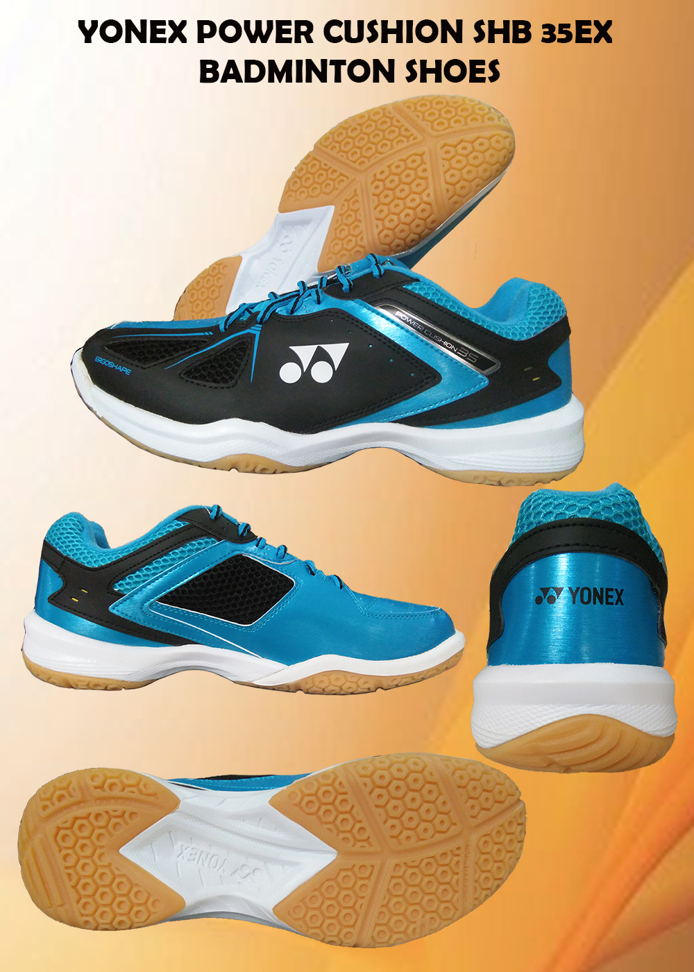 Yonex Power Cushion SHB 35EX Badminton Shoes_2