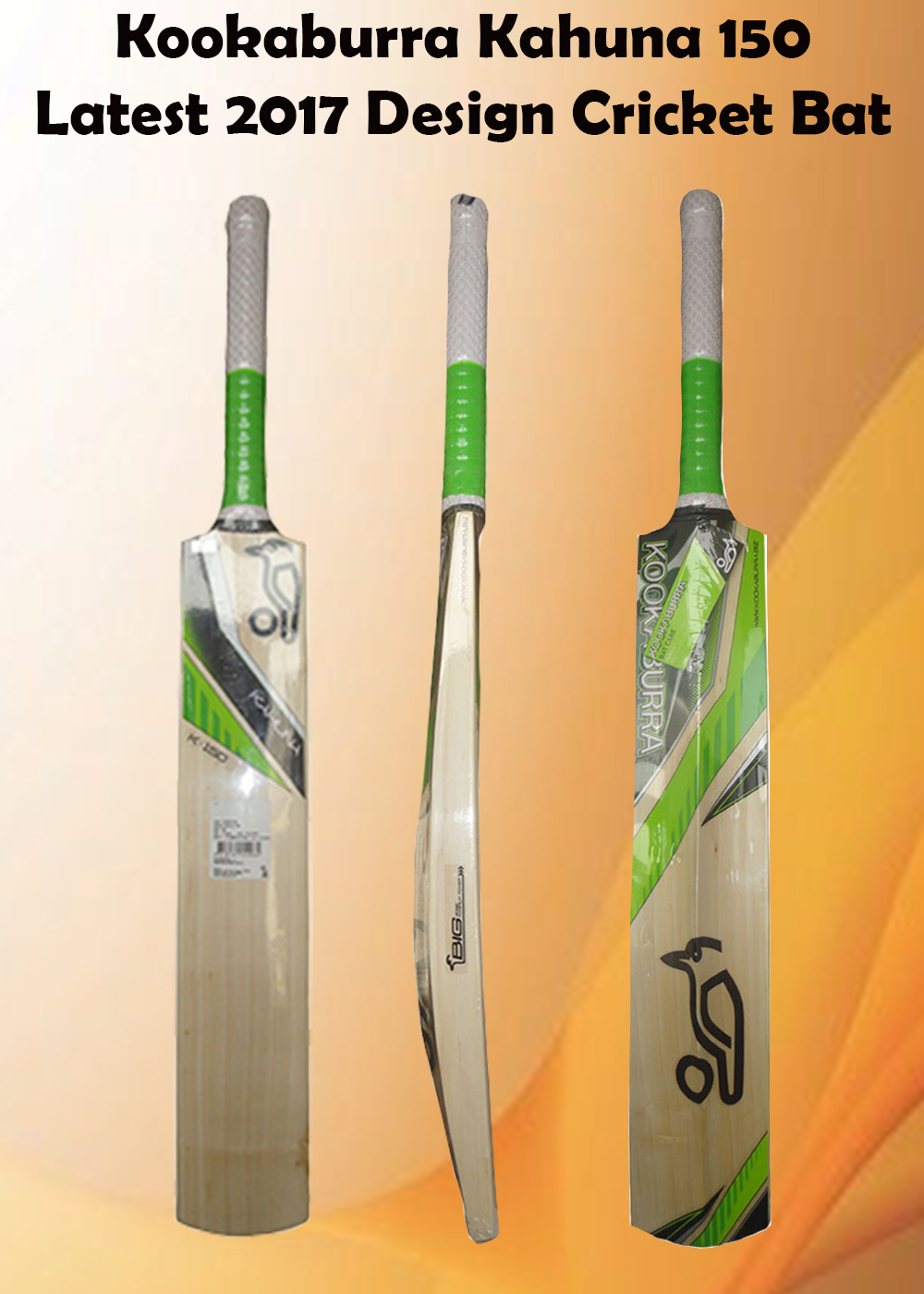 Kookaburra Kahuna 150 Cricket Bat_4