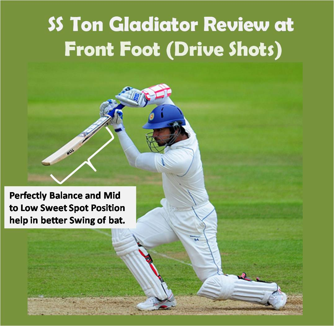 Feedback of Gladiator at front foot