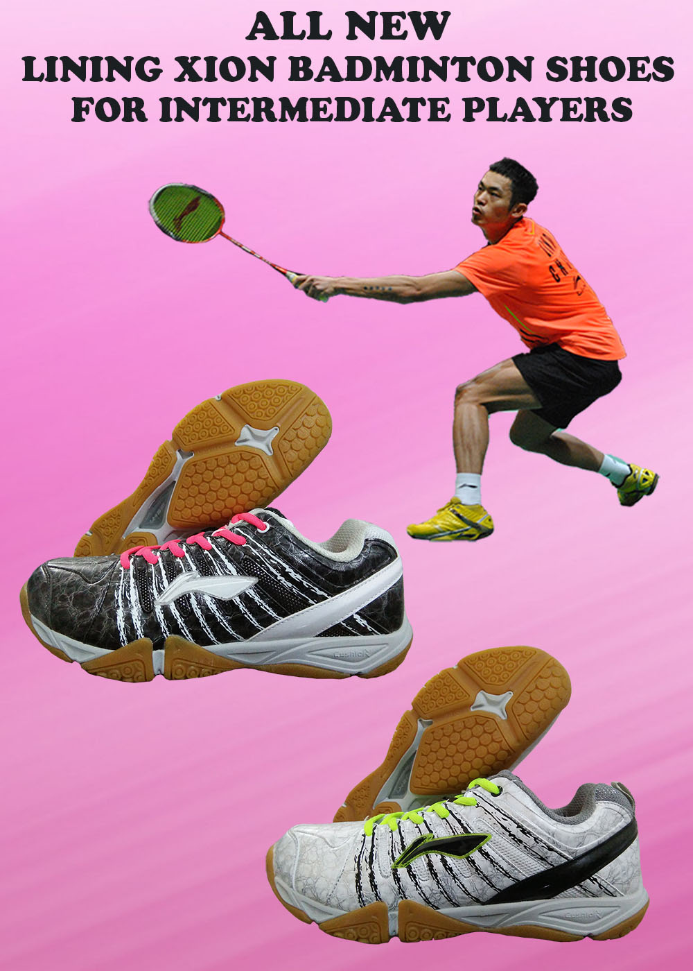 ALL NEW LINING XION BADMINTON SHOES FOR INTERMEDIATE PLAYERS_1