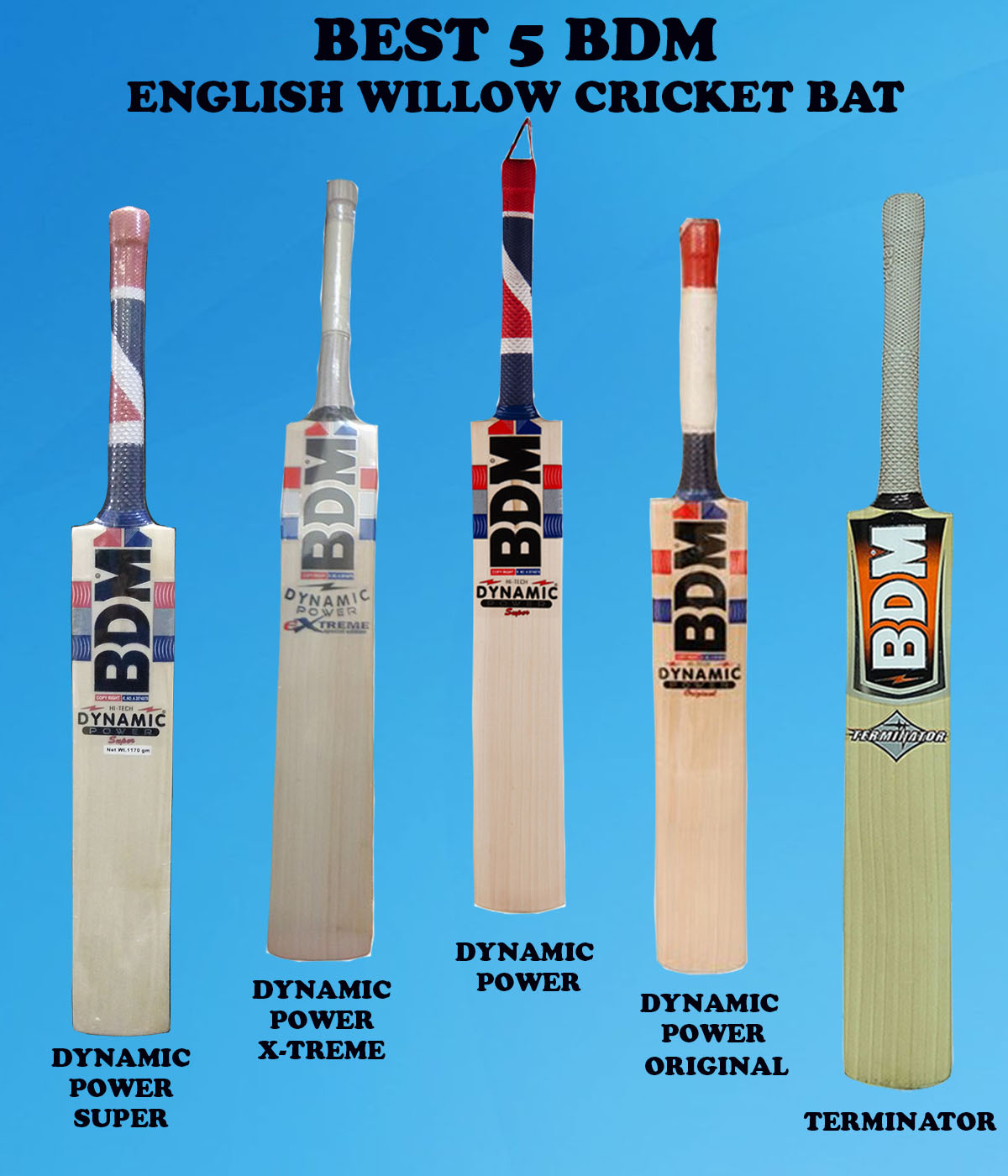BDM 5 BDM ENGLISH WILLOW BAT IMAGES