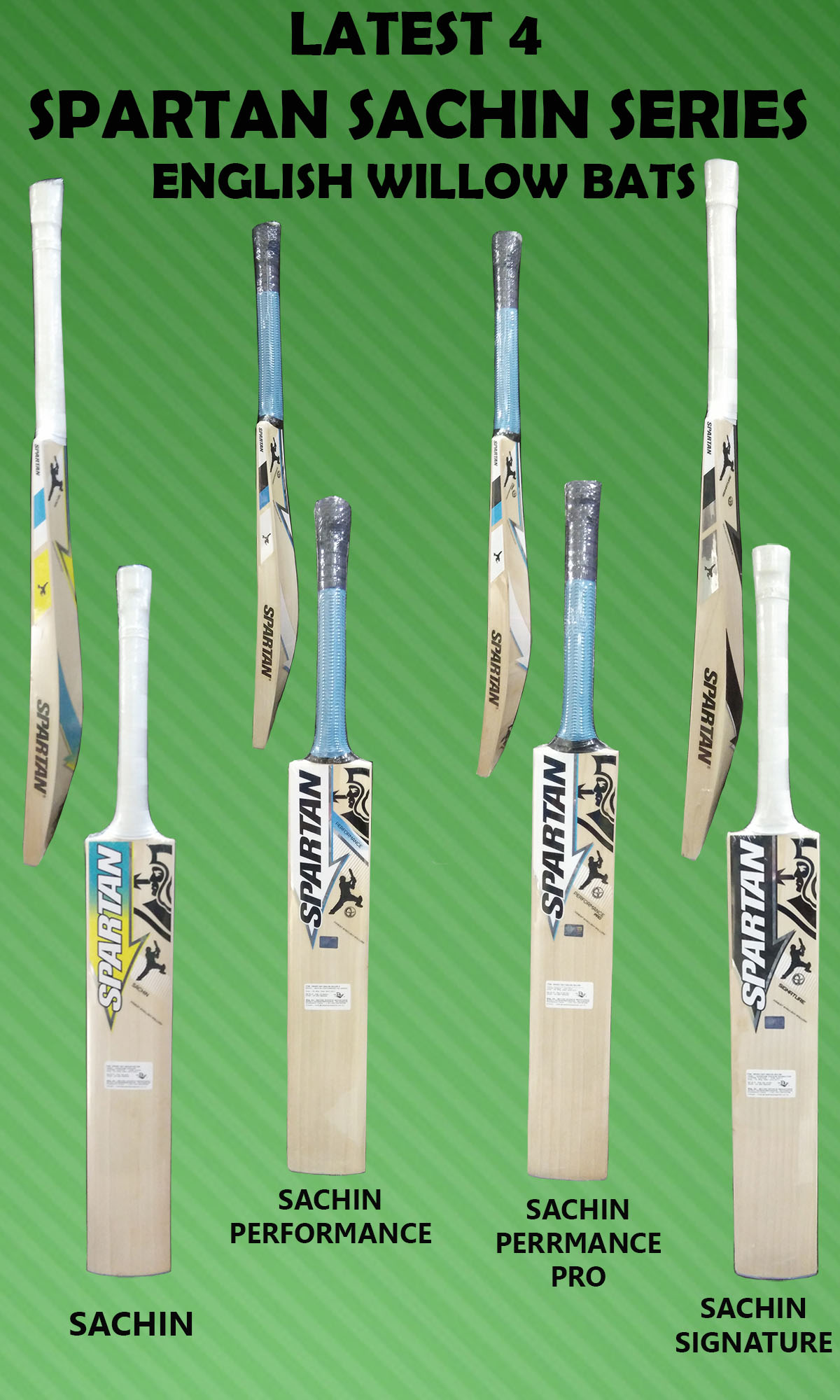 LATEST 4 SPARTAN SACHIN SERIES ENGLISH WILLOW BATS_1