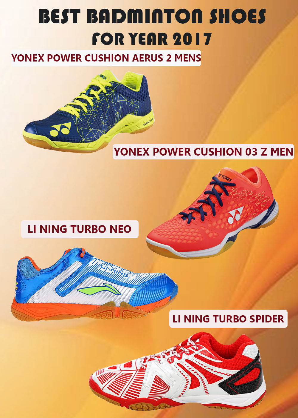 BEST BADMINTON SHOES FOR YEAR 2017_1
