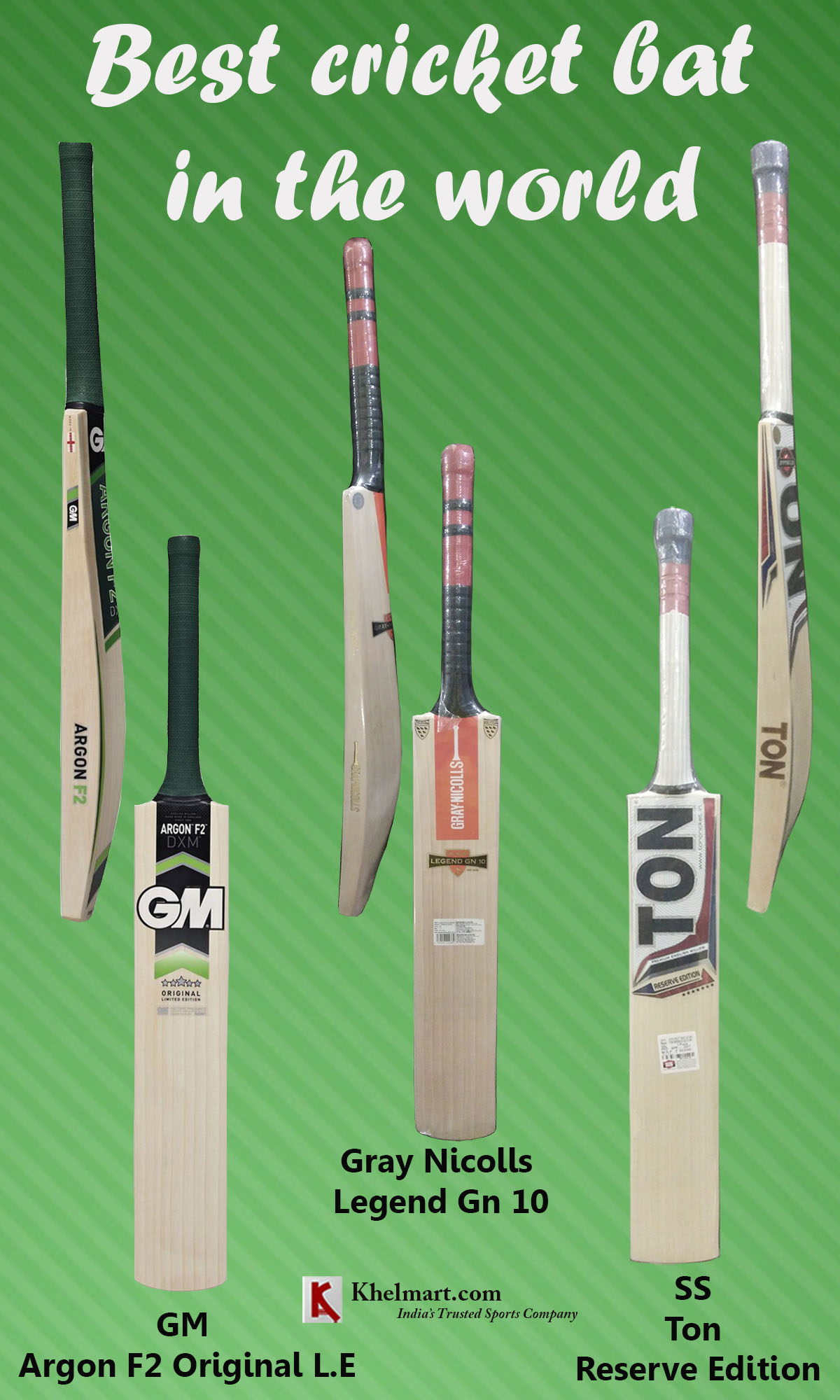 BEST CRICKET BAT IN THE WORLD