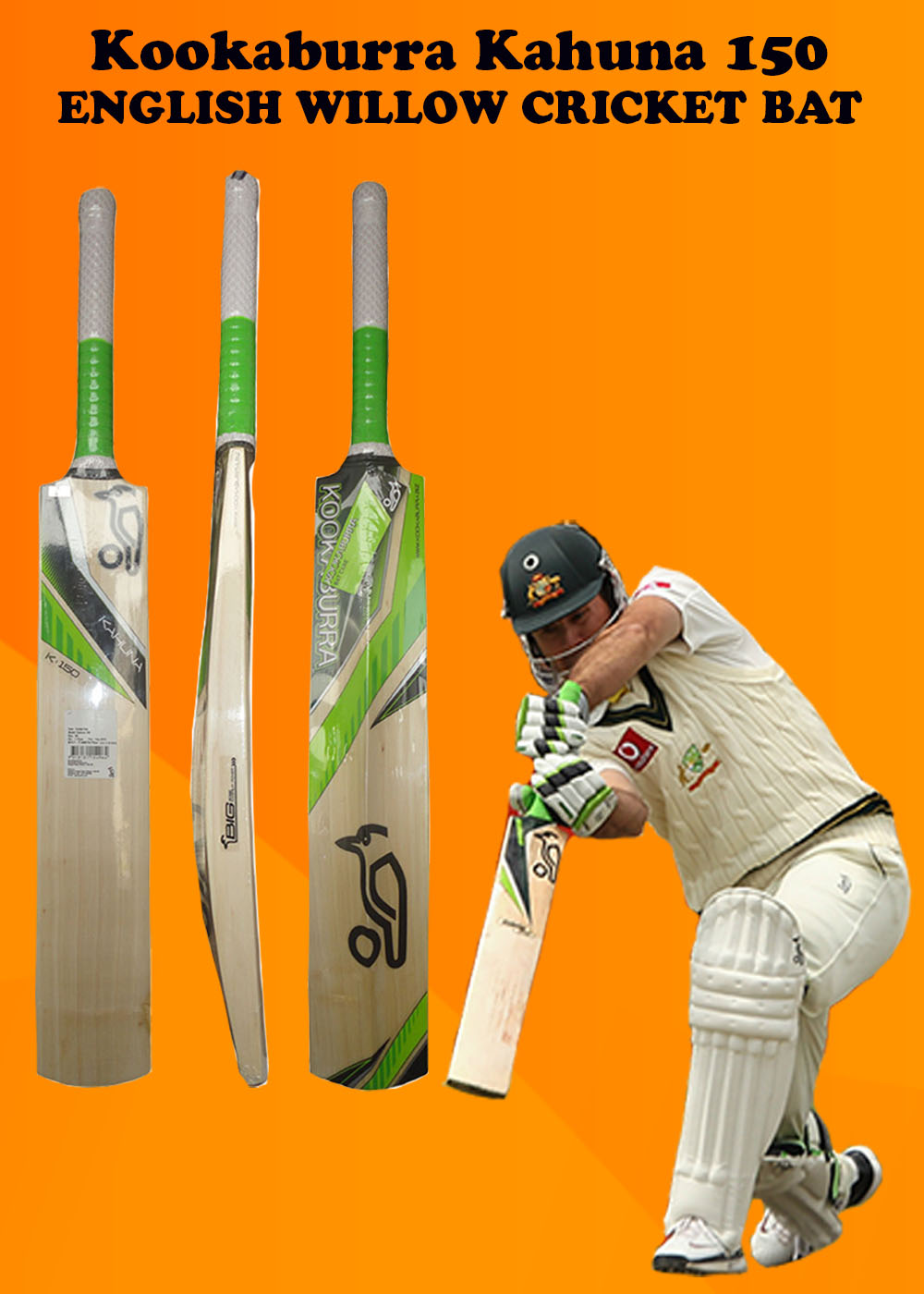 Kookaburra Kahuna 150 Cricket Bat_3