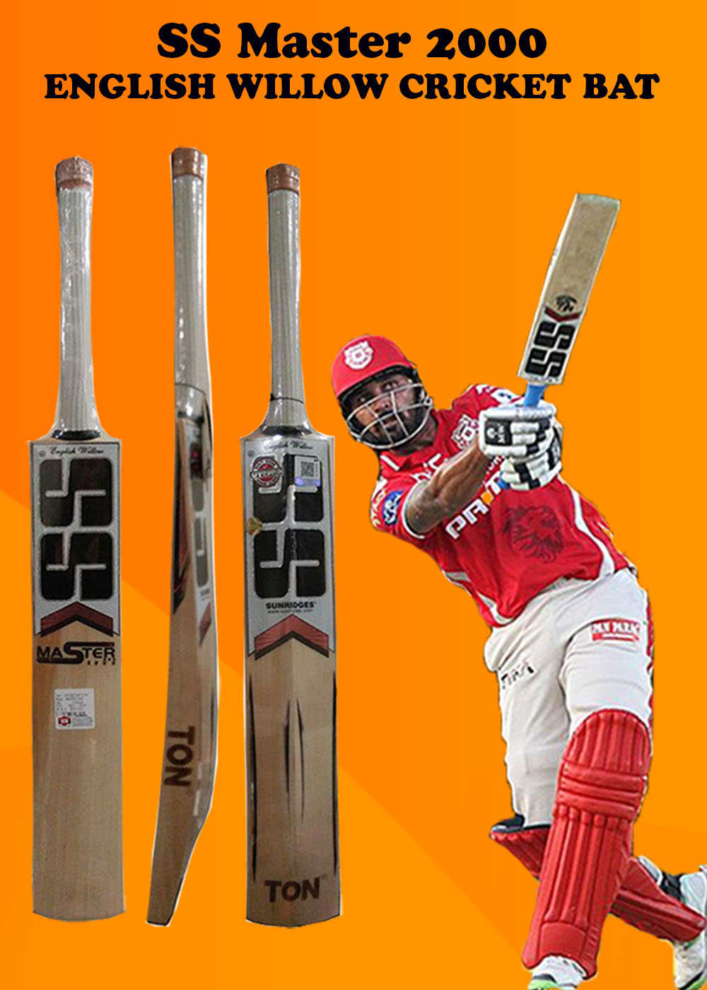 SS Master 2000 Cricket Bat_4
