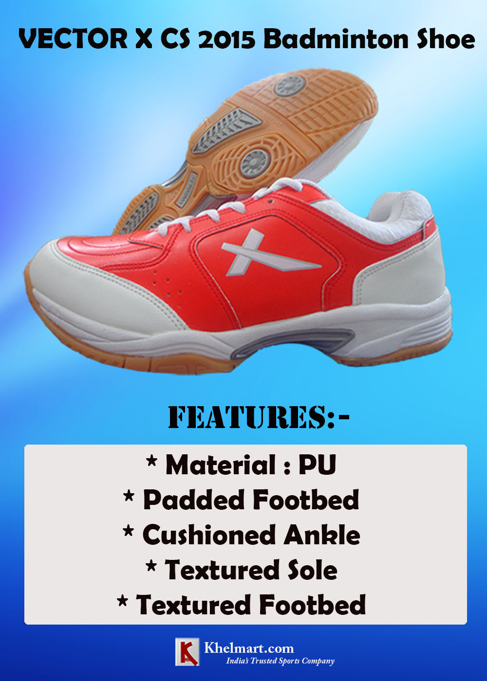 Vector X CS 2015 Badminton Shoes_5