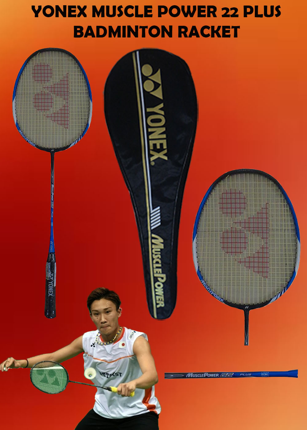 Yonex Muscle Power 22 Plus
