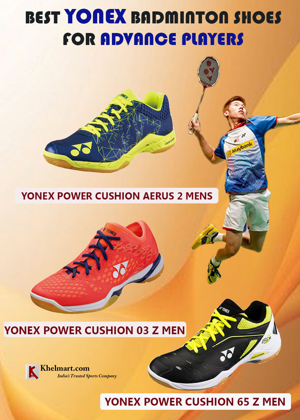 98ec019431b Best YONEX Badminton Shoes For Advance Players | Khelmart.org | It's ...