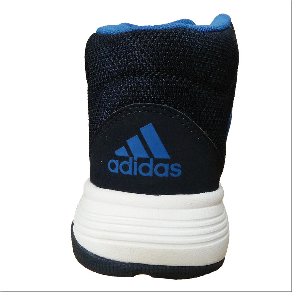 Adidas Cloud Foam Llation Basketball Shoes White Blue And