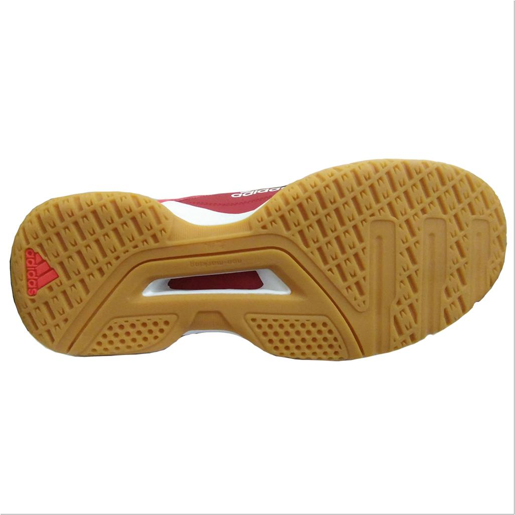 the best attitude 2cf75 7a2e1 White Buy Quick 1 Badminton Adidas Shoes 3 And Red Force zPnxxqd8