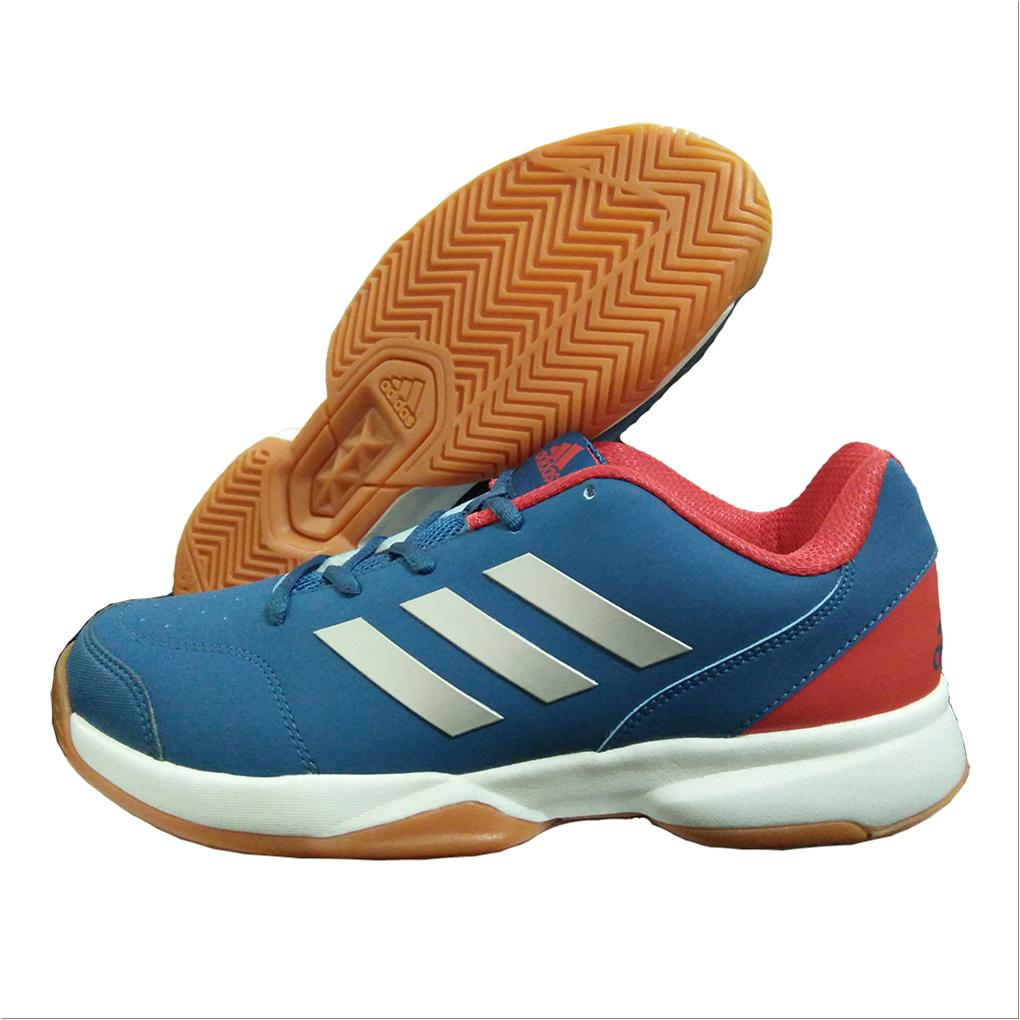 81a3b0a2435b48 Adidas Gumption Indoor Badminton Shoes Blue White and Red - Buy ...