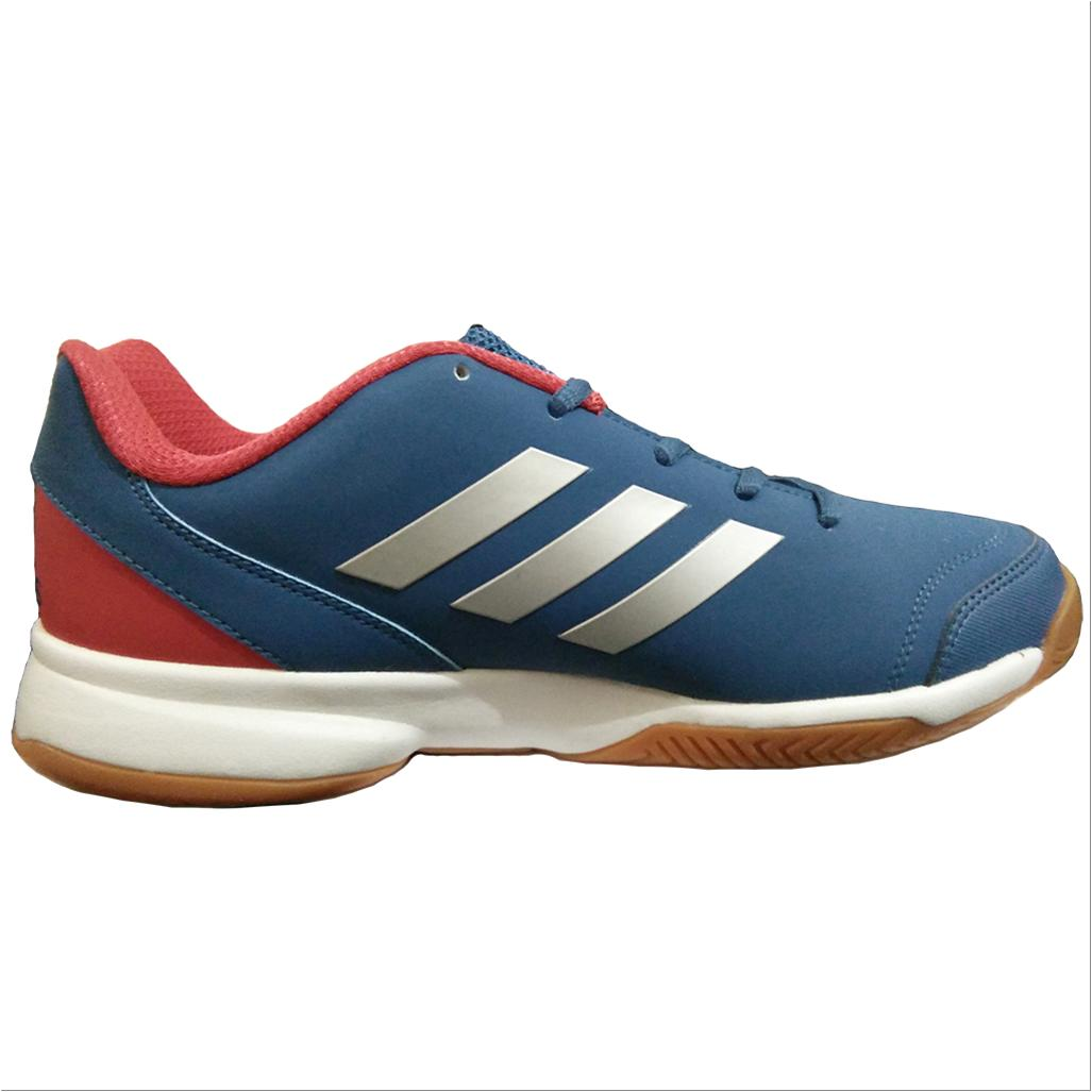 081dc2a38ea303 Adidas Gumption Indoor Badminton Shoes Blue White and Red - Buy Adidas  Gumption Indoor Badminton Shoes Blue White and Red Online at Lowest Prices  in India ...