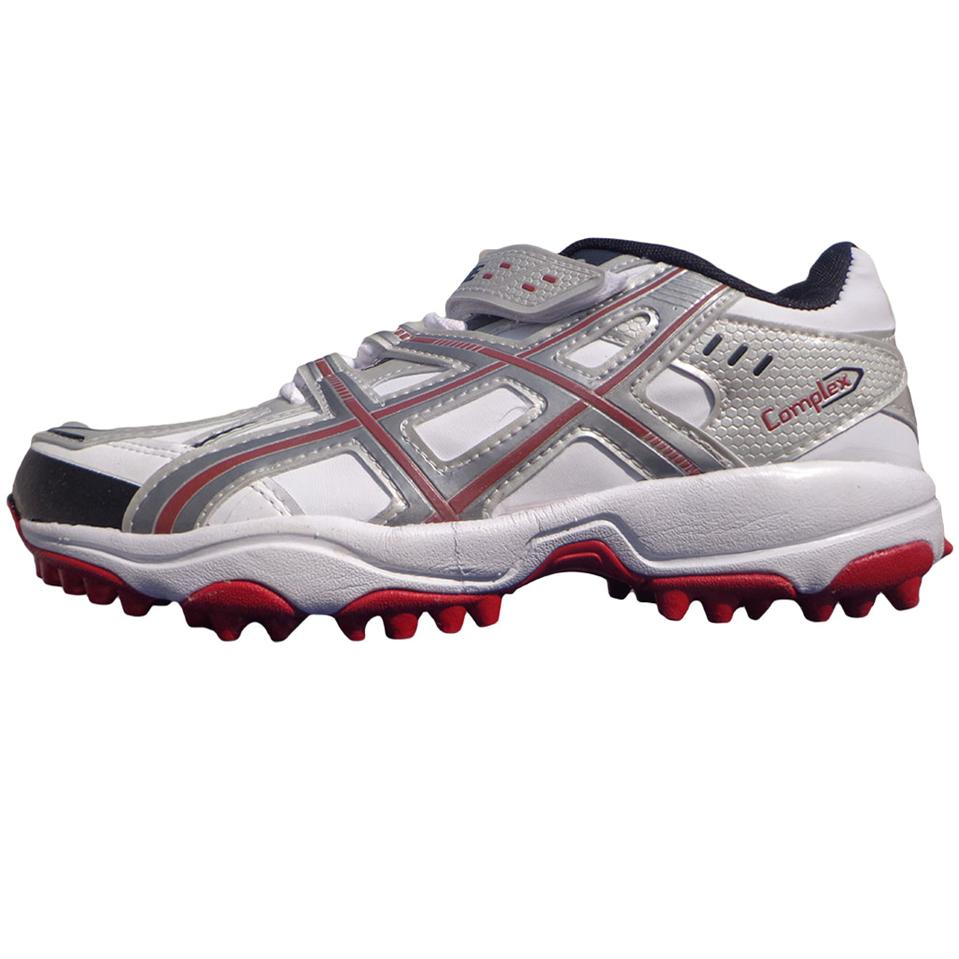 c10b64862986 PRO ASE stud Cricket Shoes White and Red - Buy PRO ASE stud Cricket ...