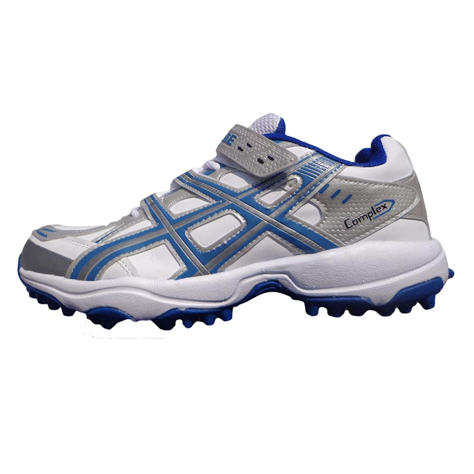 Pro Ase Stud Cricket Shoes White And Blue Buy Pro Ase