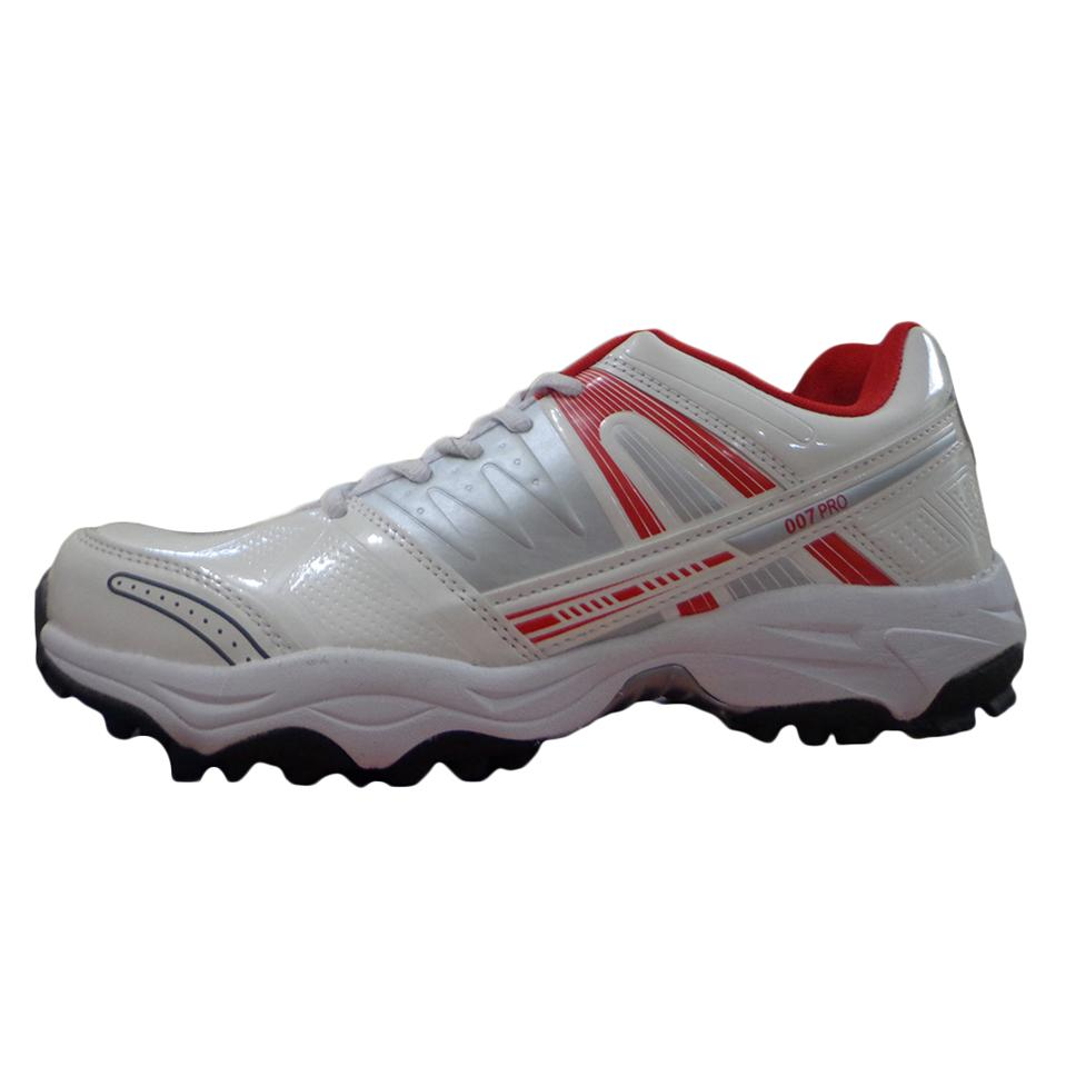 d94082151fc7 PRO ASE 007 stud Cricket Shoes Red and White - Buy PRO ASE 007 stud ...