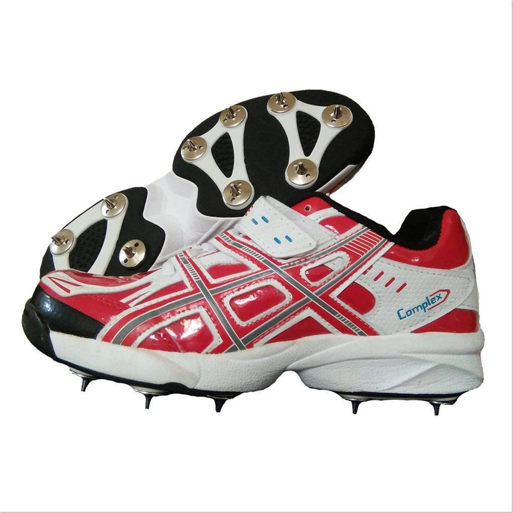 5f5dc9b8be8e PRO ASE stud Full Spike Cricket Shoes Red - Buy PRO ASE stud Full ...