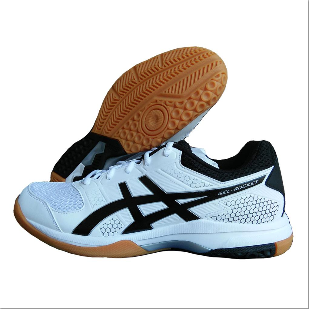 bdee2551e3af91 ASICS Gel Rocket 8 Badminton Shoes White and Black - Buy ASICS Gel ...