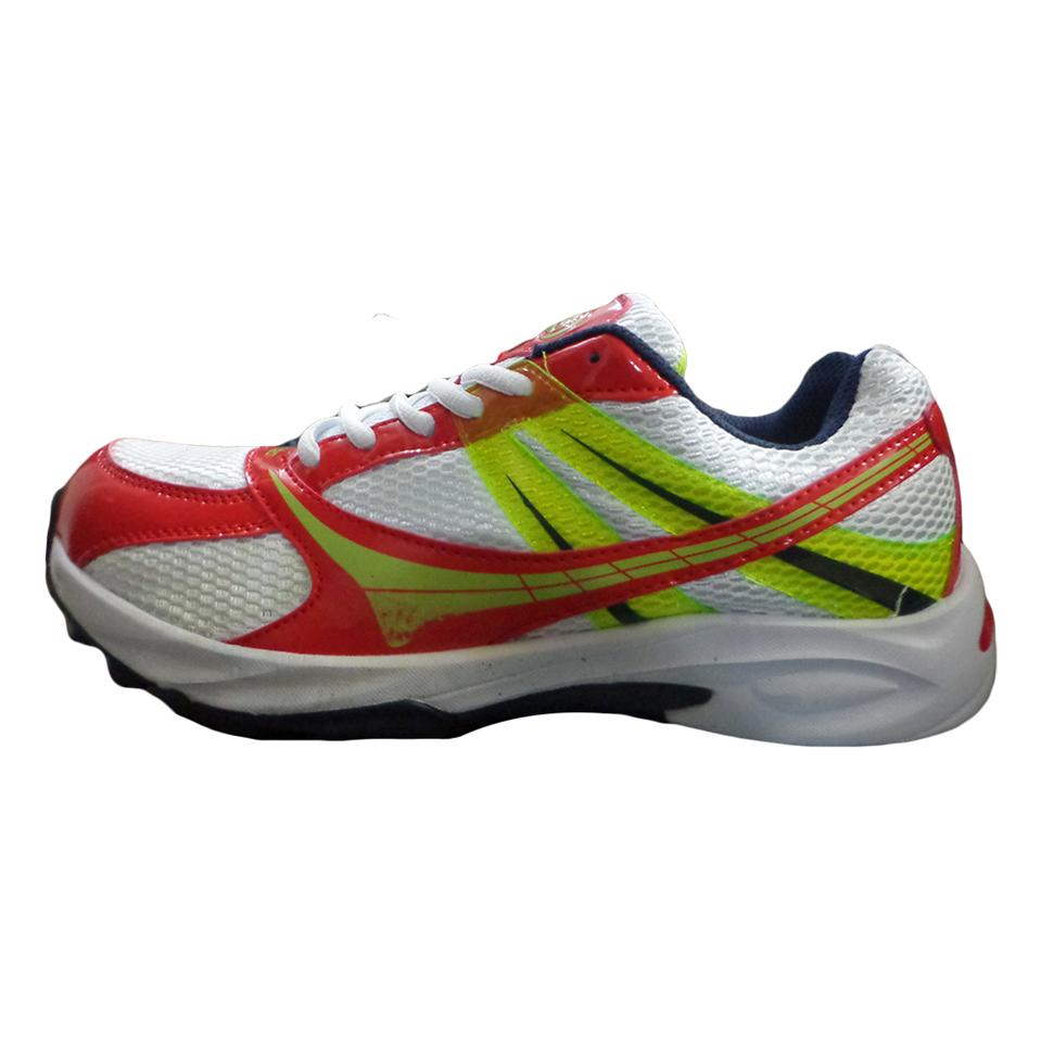 Balls T20 Cricket Shoes White Black Yellow Red Buy Balls