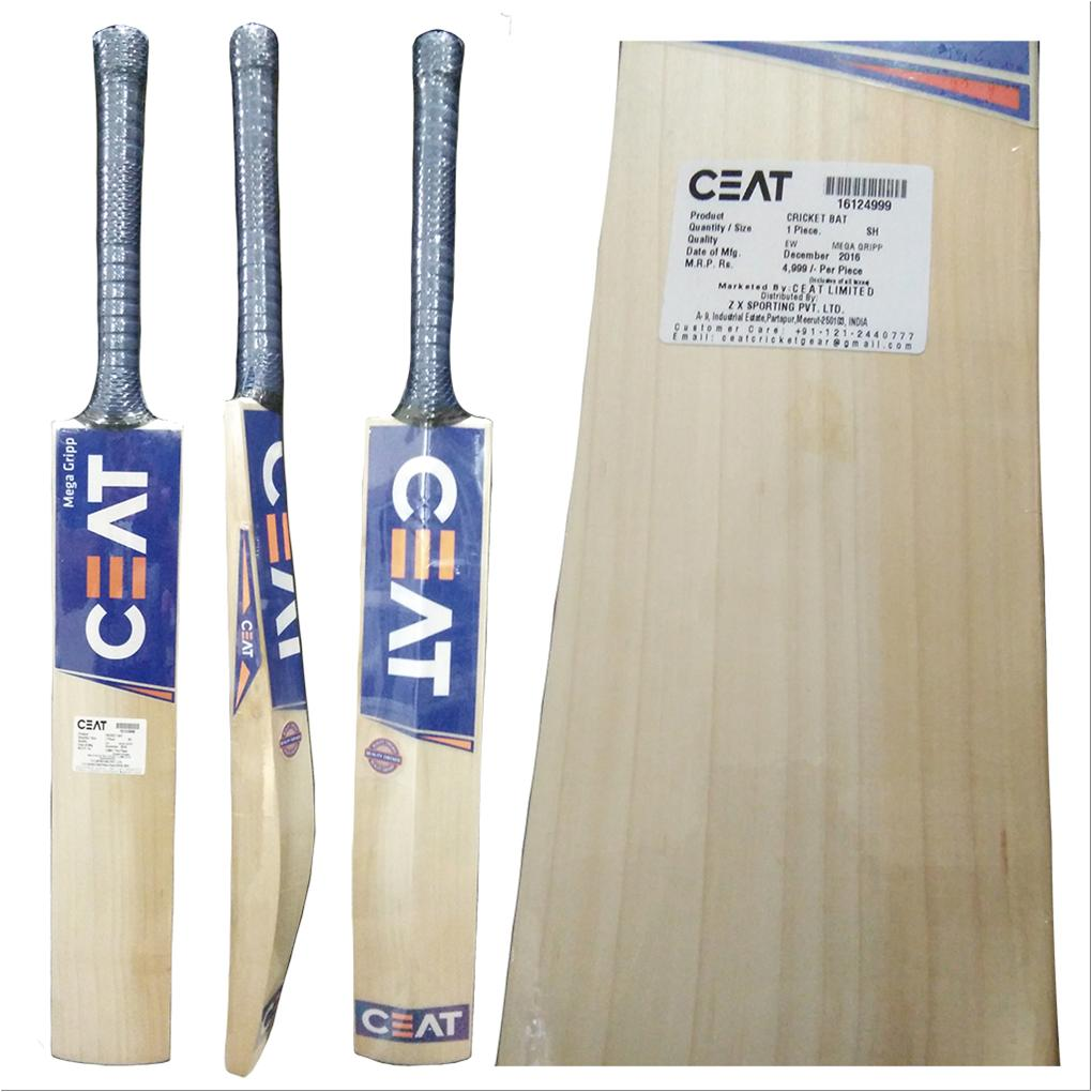 cf7e5494151 CEAT Mega Grip English Willow Cricket Bat - Buy CEAT Mega Grip ...