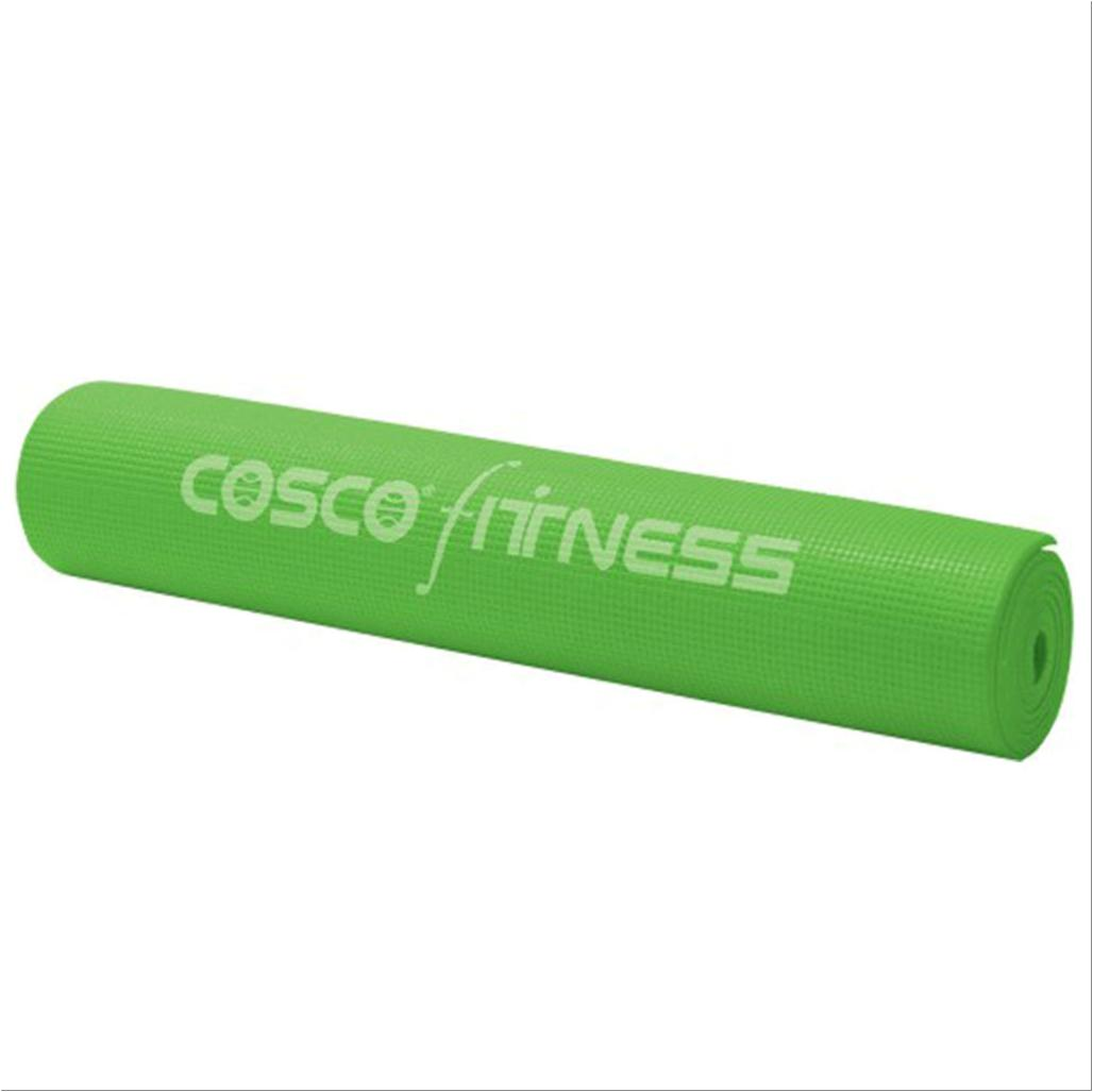 Cosco Power Yoga Mat 5mm Printed Pvc Mat With Tetron Carry