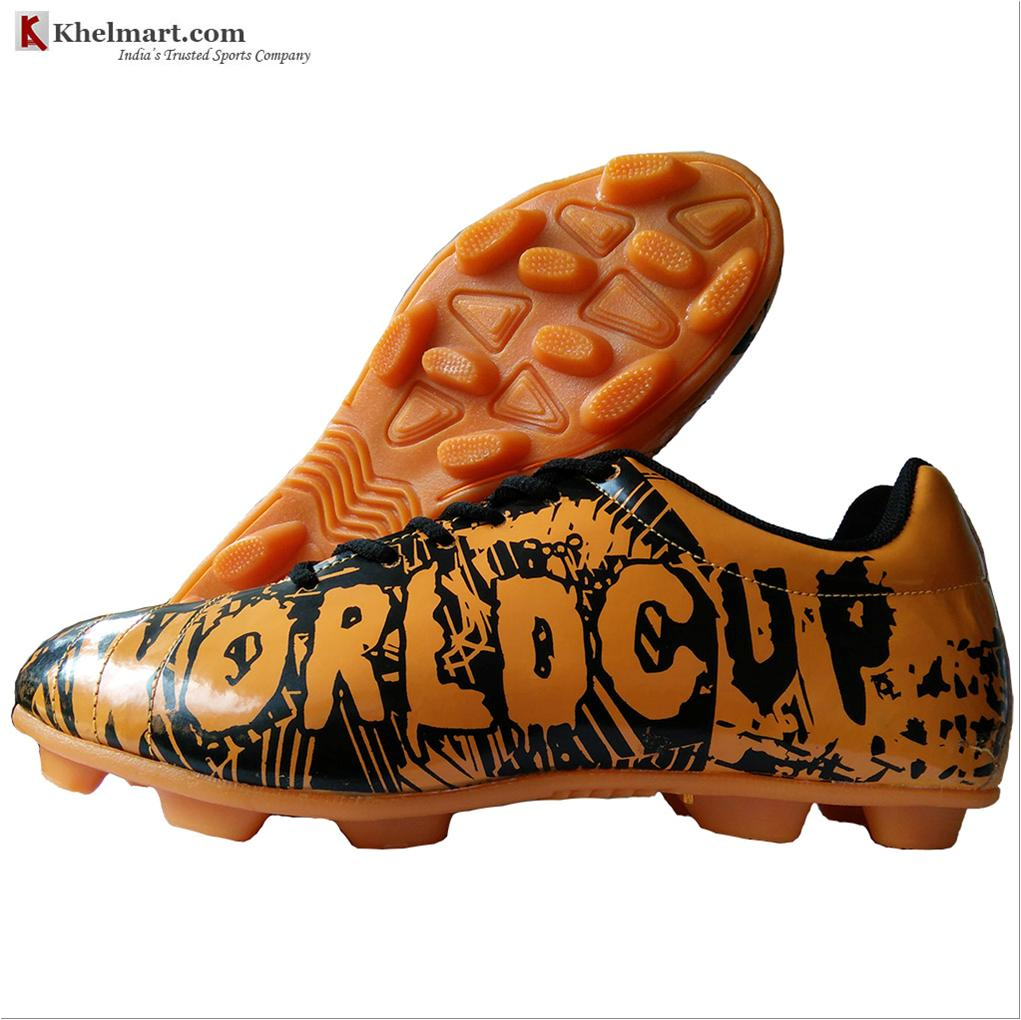 b55cec261 Cosco World Cup Football Shoes Orange and Black - Buy Cosco World ...