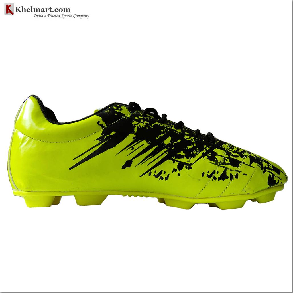 c7e93179b Cosco World Cup Football Shoes Black and Lime - Buy Cosco World Cup ...