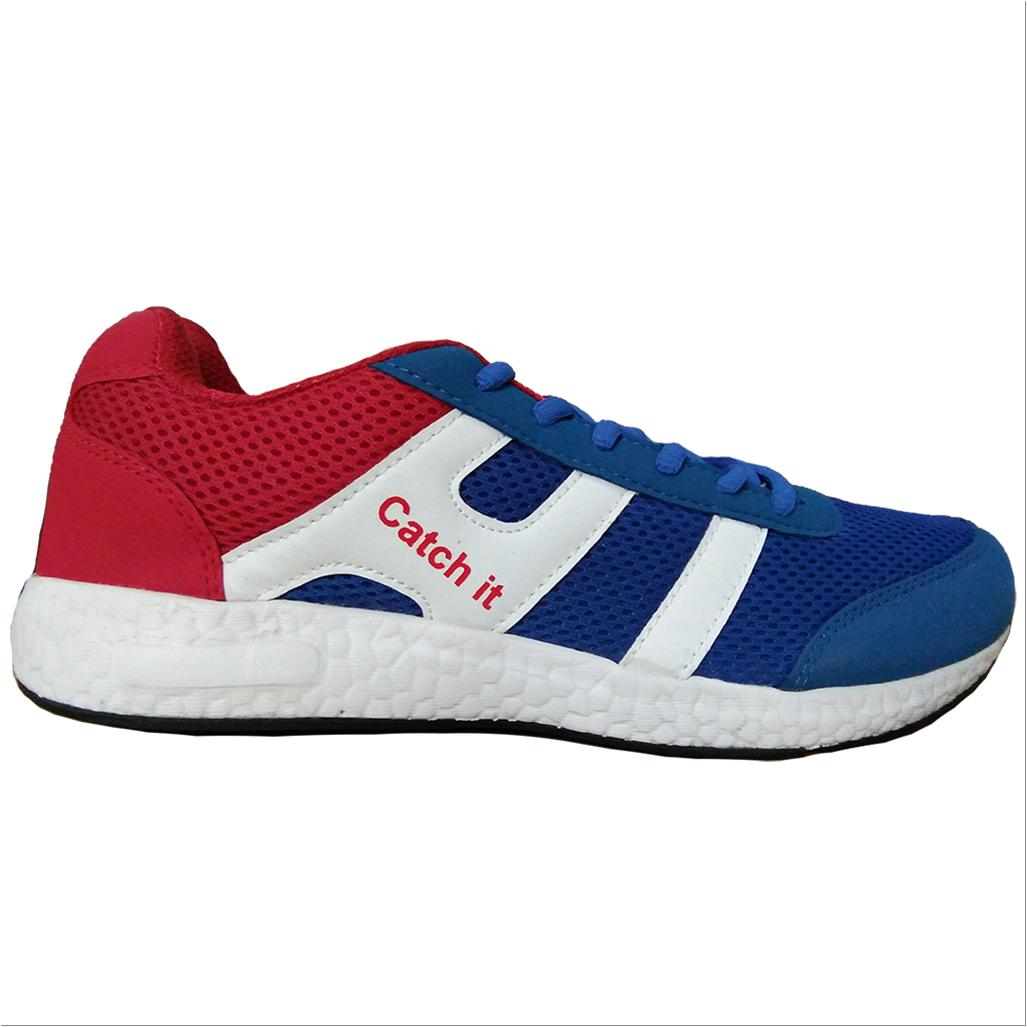 Catch It Running Shoes White Blue And Red Buy Catch It
