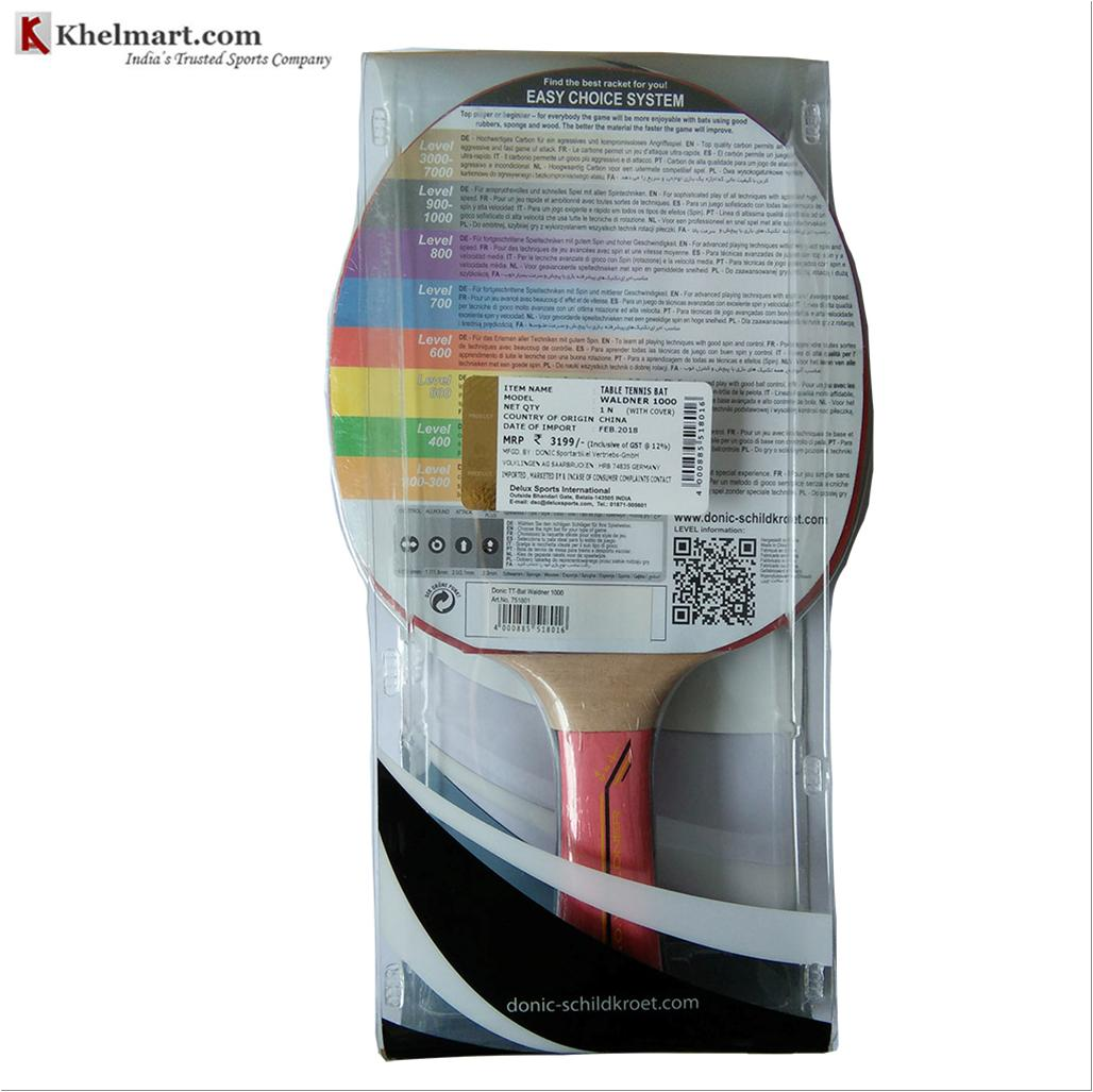 Donic Waldner 1000 Table Tennis Racket Buy Donic Waldner