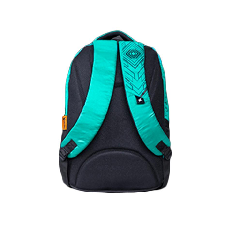 Fastrack Guys Polyester Blue And Black Backpack Buy