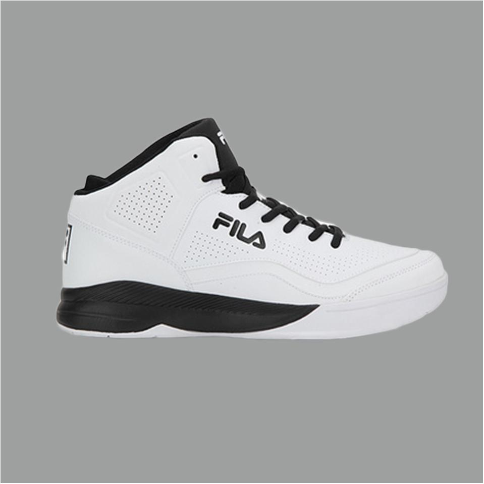dd812bf23b6 Fila Gunner White and Black Basketball shoes - Buy Fila Gunner White ...