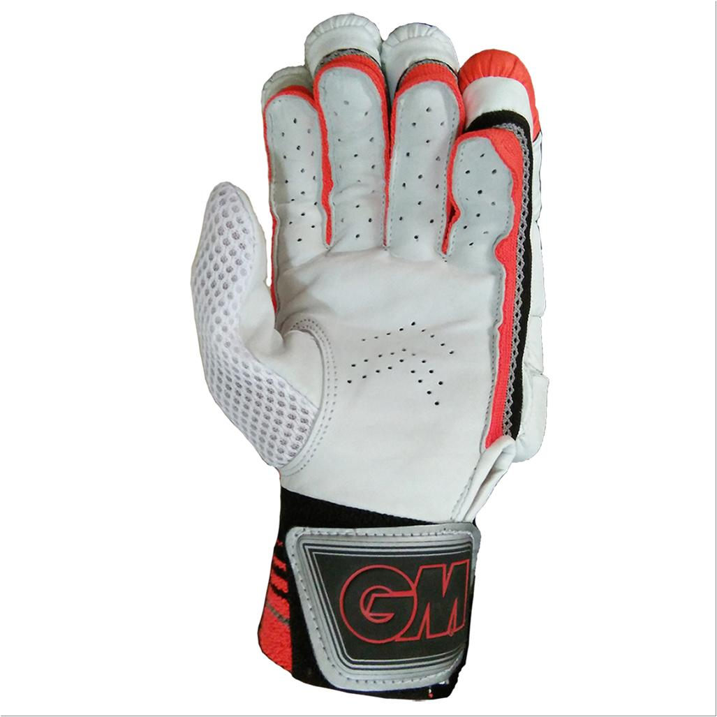 Gm 505 Cricket Batting Gloves White Orange And Black Buy