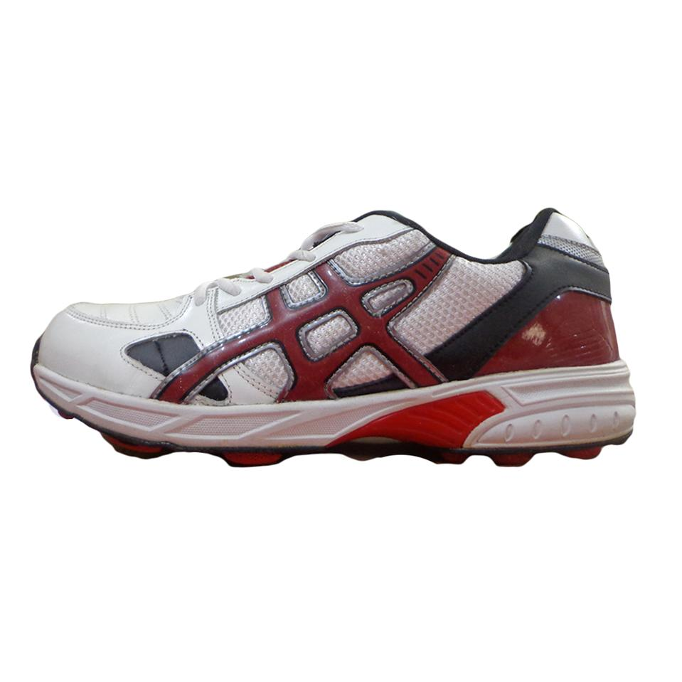 Kuaike Rubber Studs Cricket Shoes Red And Black Buy