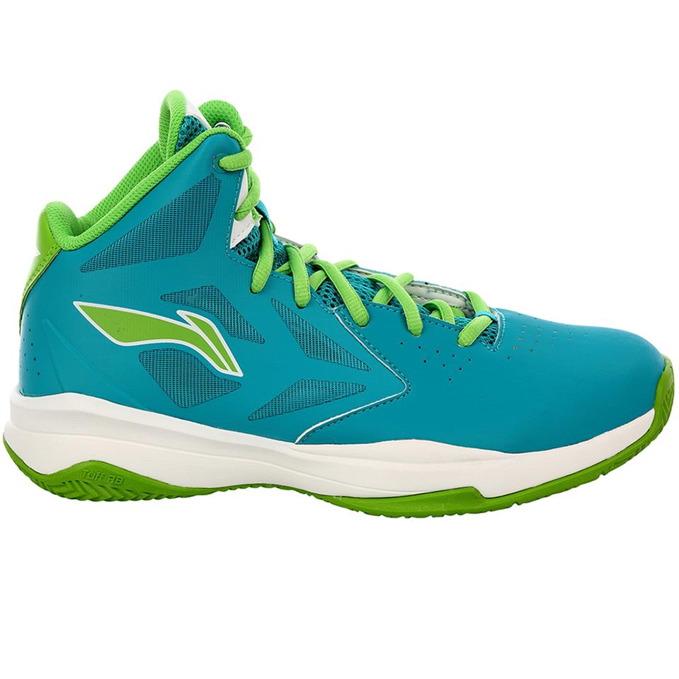 Lining Abpj035 1 Basketball Shoes Green And Sky Blue Online At Lowest S In India