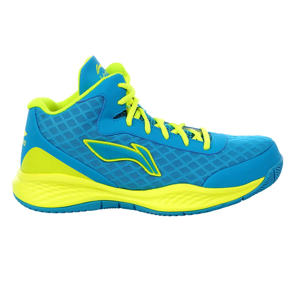 Lining Abpj047 1 Basketball Shoes Blue And Green Buy