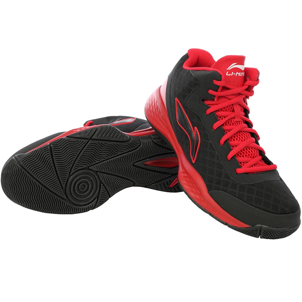 85f9881f932 Lining ABPJ047 3 Basketball Shoes Black and Red - Buy Lining ABPJ047 ...