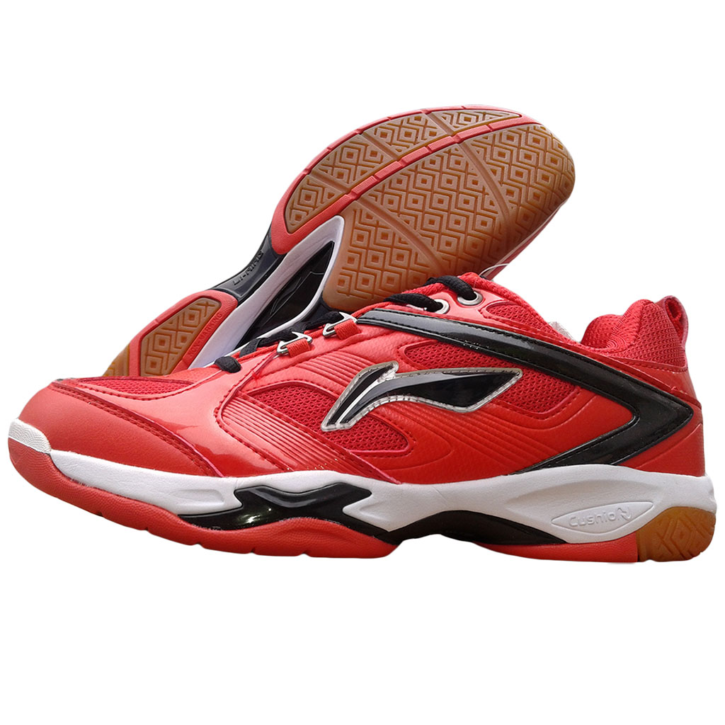 Li Ning Champion Red Badminton Shoes - Buy Li Ning ...