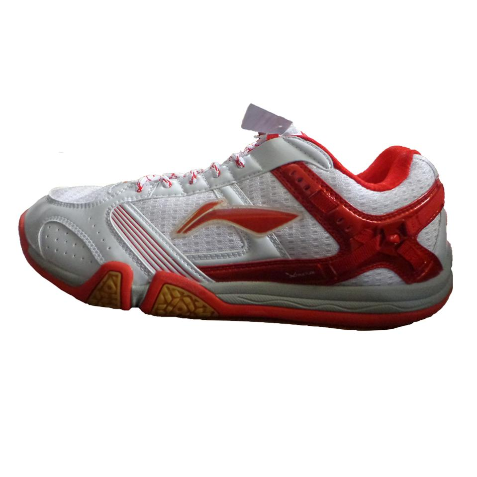 Li Ning Saga X Badminton Shoes White And Red Online At Lowest S In India Khelmart Com