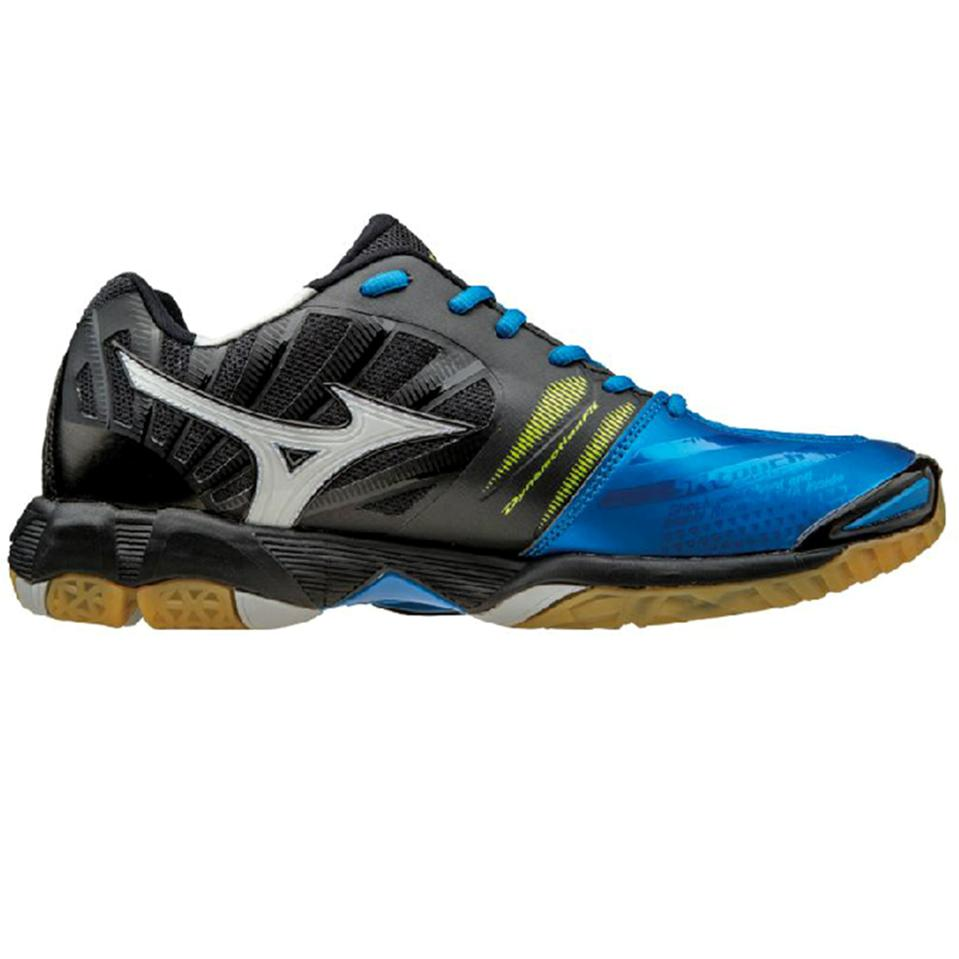 Mizuno Mens Wave Tornado X Mid Top Directoire Blue And
