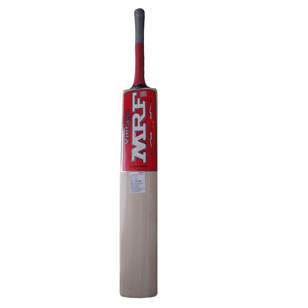 MRF Vintage English Willow Cricket Bat Standard Size