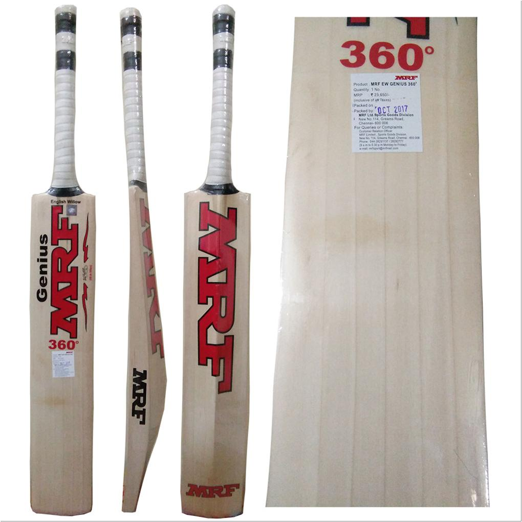 46c8e478c MRF Genius 360 Degree English Willow Cricket Bat - Buy MRF Genius ...
