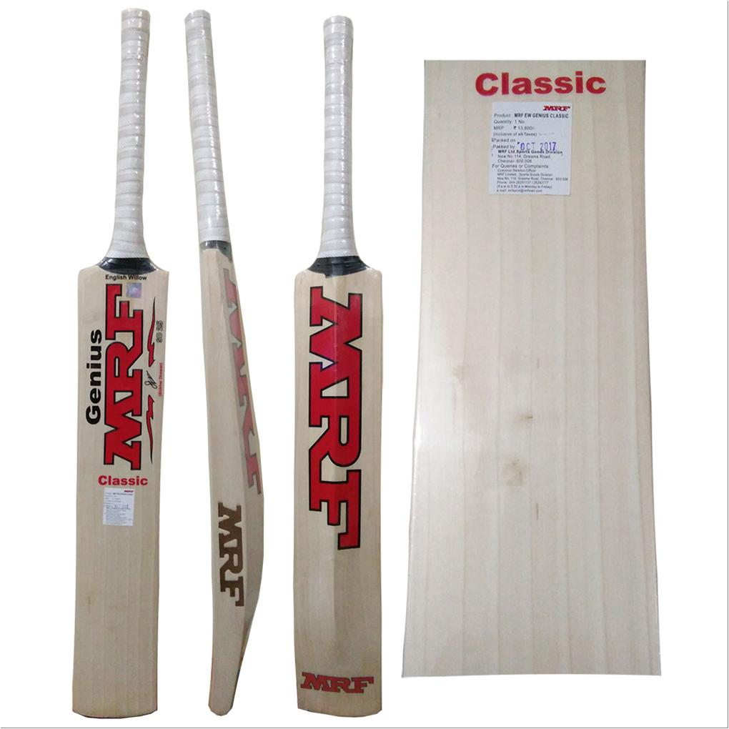 7b4cac2b7 MRF Genius Classic English Willow Cricket Bat - Buy MRF Genius ...