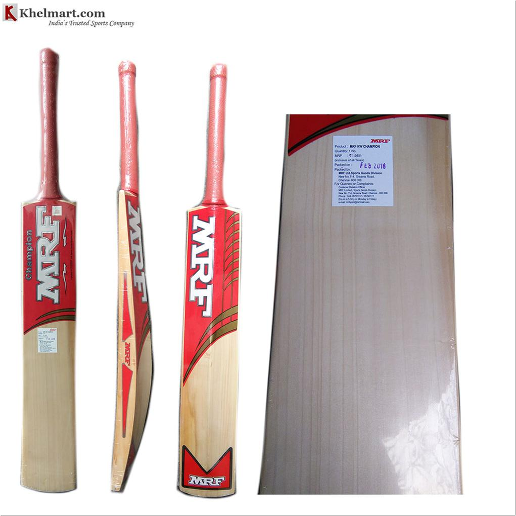 8d82f02c1 MRF Champion Kashmir Willow Cricket Bat - Buy MRF Champion Kashmir ...