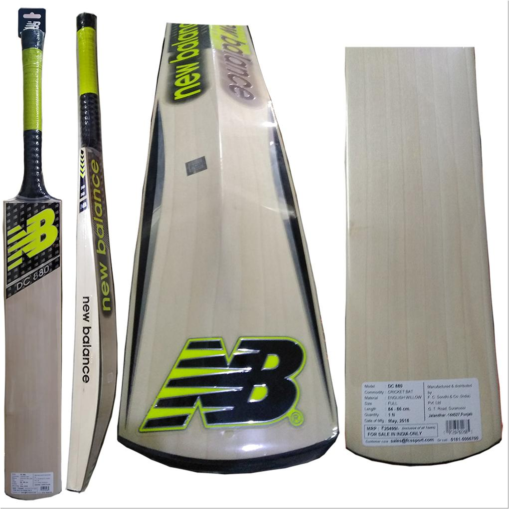 New Balance DC 880 English Willow Cricket Bat