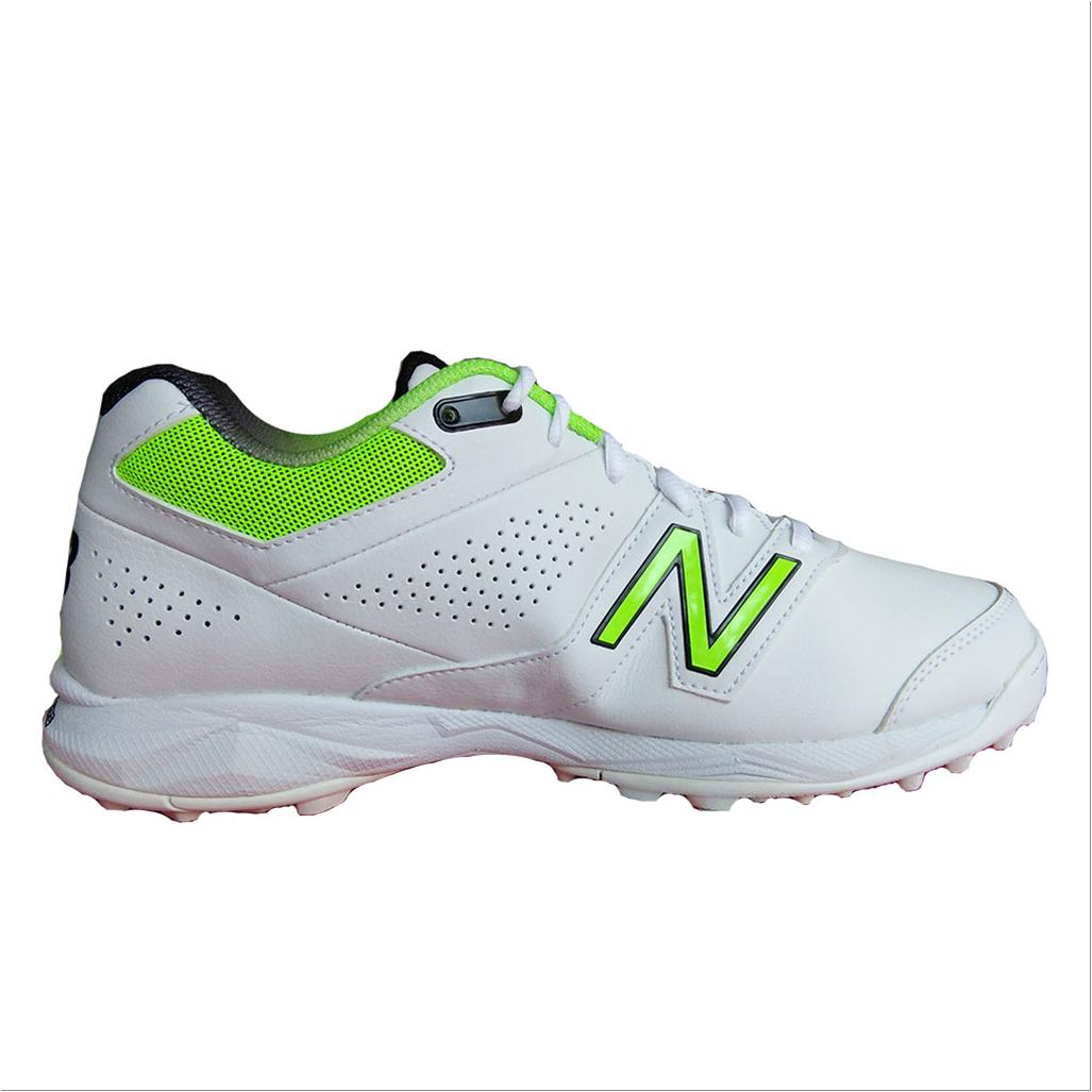 8afaf5c48 New Balance CK4020 W3 Cricket Shoes White and Fluo Green - Buy New ...