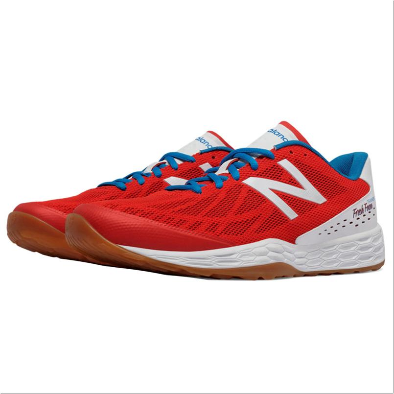 cb344565c63a0 New Balance Fresh Foam 80V3 Trainer Sport Shoes Red and White - Buy ...