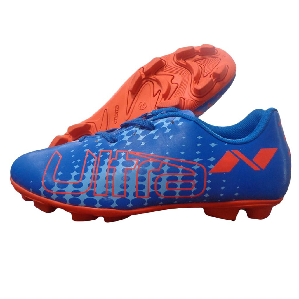 Nivia Ultra Football Stud Shoes Blue And Orange Buy