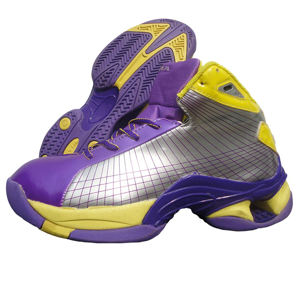 new concept 0c26f d18a1 Nivia Warrior Basketball shoe Yellow and Purple - Buy Nivia Warrior ...